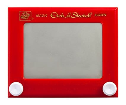 The Etch a Sketch and the Super Computer (or come from nothing and access everything)